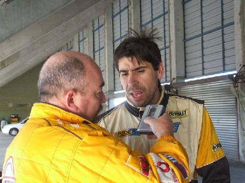 Karting - Fernando Gomez Fredez ganador en el autódromo local.