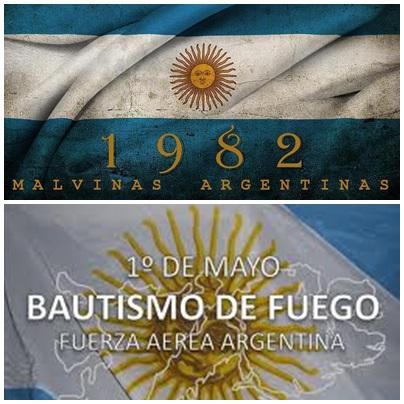 Malvinas: Bautismo de fuego de la Fuerza Aérea Argentina - Elogios mundiales a los pilotos argentinos