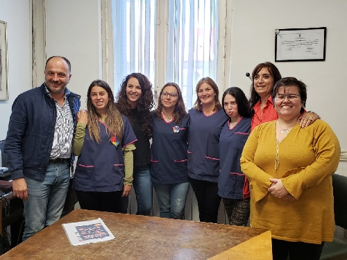 MERQUEL VISITÓ INSTITUCIONES DE TRES ARROYOS