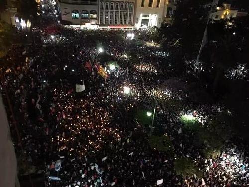CONTRA EL FRAUDE Y LA VIOLENCIA Tucumán: Tercer día de marchas y cacerolazos