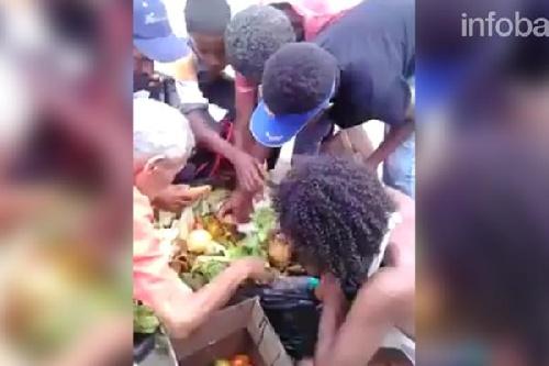 Crisis humanitaria en Venezuela: revuelven la basura para conseguir comida