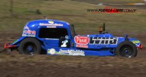 TC del 40 Sudeste - Ruben Guarino el mas rápido del sábado en Laprida.