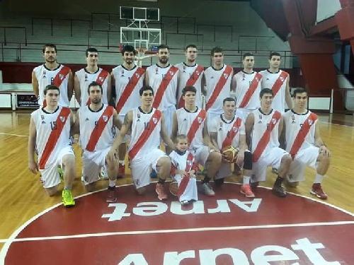 Basquet Federal - Derrota de River Plate - 7 puntos de David Fric.