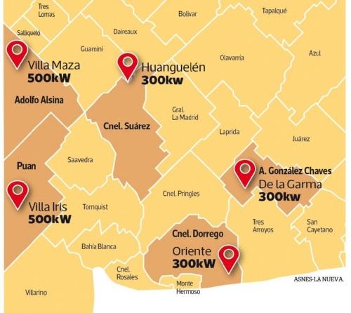 Regionales: el gobierno de Maria Eugenia Vidal licita la ejecución de cinco parques solares en nuestra zona