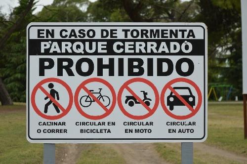 El Parque Municipal permanecerá cerrado hasta nuevo aviso