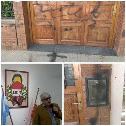 Atacaron la casa familiar de Juan Pablo Baylac en Bahia Blanca
