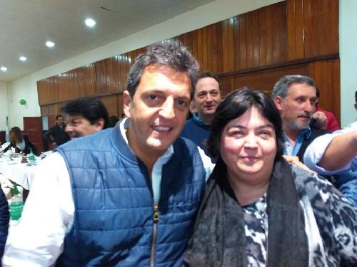 Frente Renovador Plural: Marcela Guido y Sergio Massa