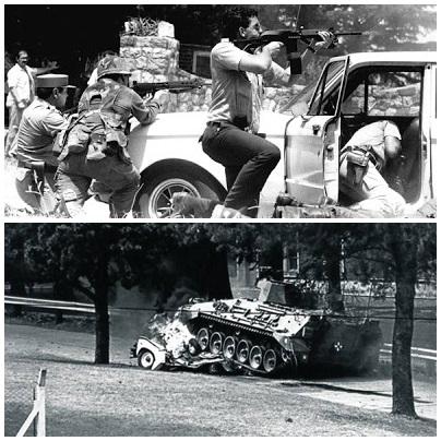 La Tablada: a 30 años del ataque de la guerrilla en pleno gobierno democrático