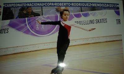 Juanse, un saavedrense campeón nacional de patín