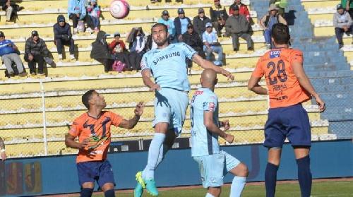 Futbol Boliviano - Sport Boys empató en la altura de La Paz ante Bolivar.