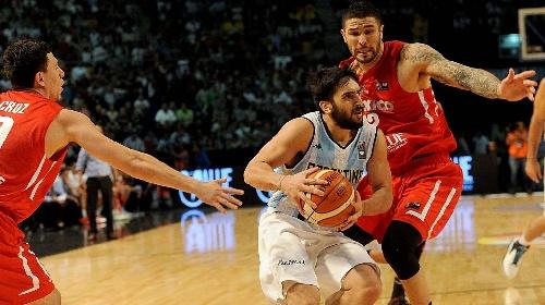FIBA de las Américas - Argentina venció a México 78-70 y clasificó a los Juegos Olímpicos