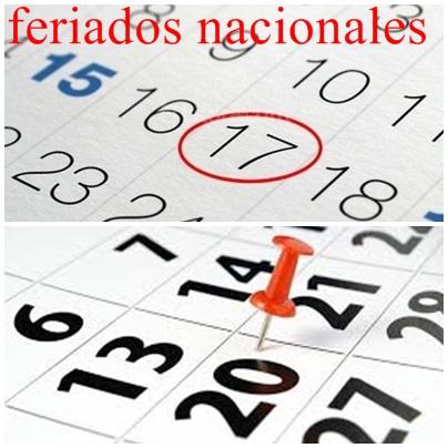 Los feriados nacionales del mes de junio son fechas inamovibles
