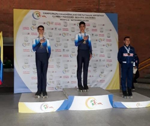El joven piguense Salas Kent sub campeón panamericano de patin