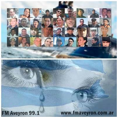 Sin esperanza de vida para los 44 marinos del submarino ARA San Juan