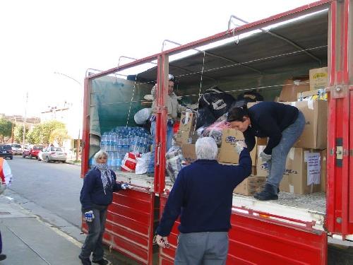 Parte hoy el camión con ayuda para los inundados organizada por el municipio