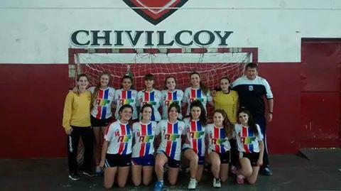 Handball Femenino - Cef de Pigue CAMPEON del torneo Provincial al superar a Riestra por 13 a 10 en menores