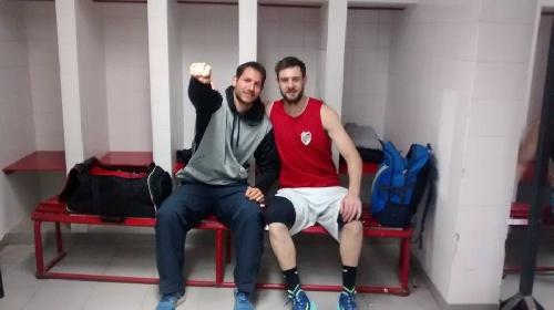 Basquet Federal - Se confirmó la baja de David Fric como incorporación de Sportivo Escobar.