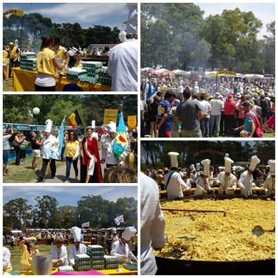 La Omelette Gigante convocó nuevamente una multitud en Pigüé