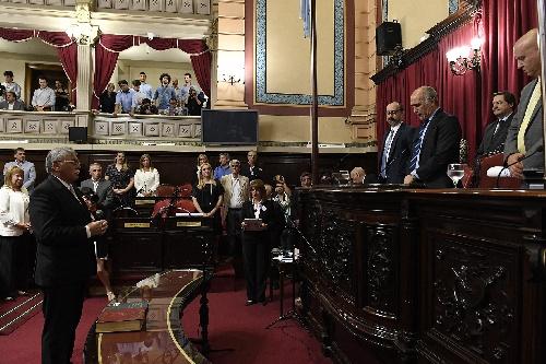 Horacio Lopez de Puán es el nuevo vicepresidente del Senado bonaerense