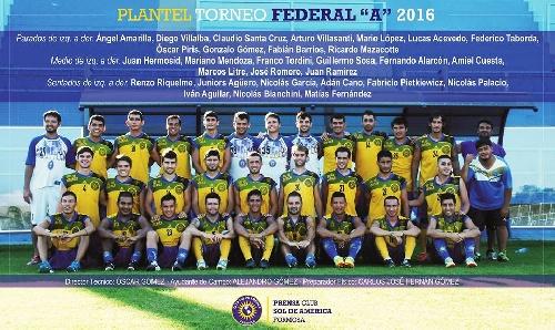 Federal A - Sol de América derrotó a Sarmiento de Resistencia y clasificó - Marcos Litre presente en el juego.