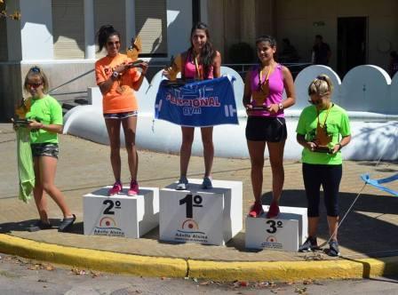 Atletismo - Yani Clair 1ra en su categoría y 2da en la general en los 10 k de Carhué.
