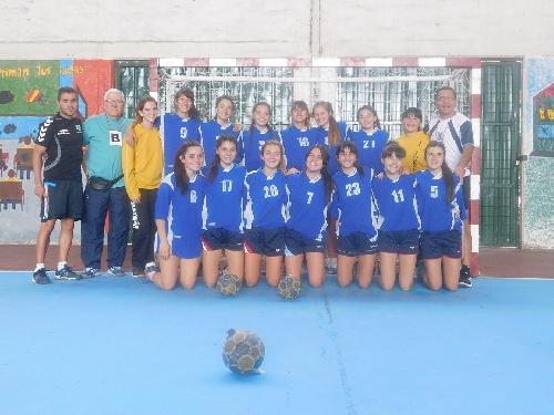 Handball Femenino - Victoria de la Asociación del SO Cadetes B en General Alvear - Rumbo a ganar una plaza en la Categoría A.