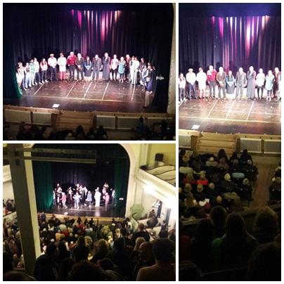 Se presentó en el Teatro Español la  Cantata Escénica