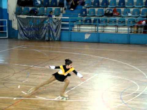 Patinaje artístico - Excelente actuación de los patinadores de Club Sarmiento en General Pico.