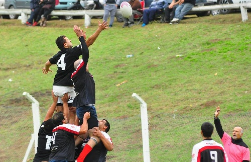 Sarmiento Rugby perdió ante Centro Naval el pasado domingo.