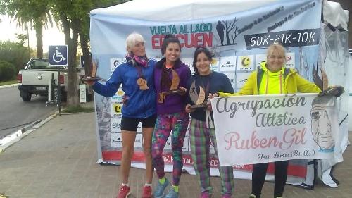 Atletismo - La atleta local Yani Clair se quedó con el 1° lugar en 5 K por la fecha del 6 Ciudades.