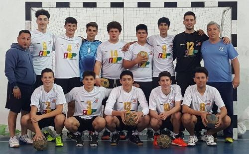 Handball Masculino Cadetes - Nueva derrota de ABSOBA en el día de ayer en Chapadmalal.