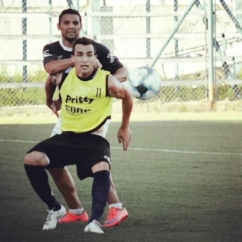 Con un gol de Martín Prost, Juventud Unida derrotó 2-0 a Atlanta en amistoso.