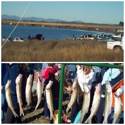 Se suspendió y reprogramó el concurso de pesca en Laguna LaTigra