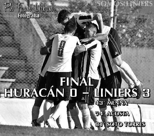 Liga del Sur - Liniers con Facundo Lagrimal derrotó a Huracán.