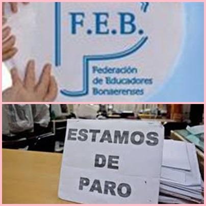 FEB convoca a paro docente para éste viernes  (02-09-16)