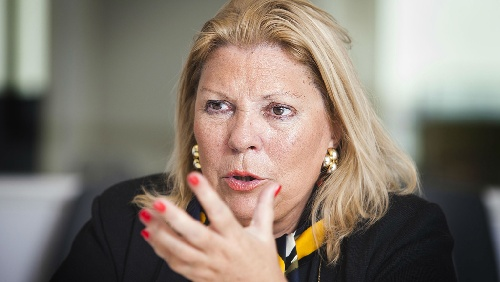 Carrió frontal contra Milagro Sala
