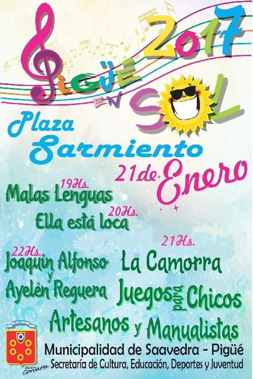 Espectáculos en Plaza Sarmiento de Pigúé