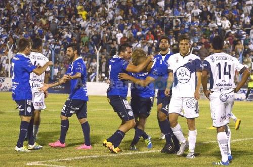 Federal A - Derrota de Juventud Antoniana ante Gimnasia y Tiro. Marcos Litre marcó un gol.
