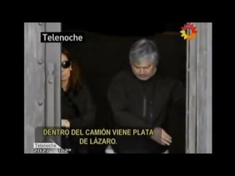 Ruta del Dinero K: escuchas sobre el traslado de plata de Lázaro Báez en camiones