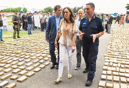La gobernadorta bonaerense se refirió a las amenazas recibidas en los últimos dias