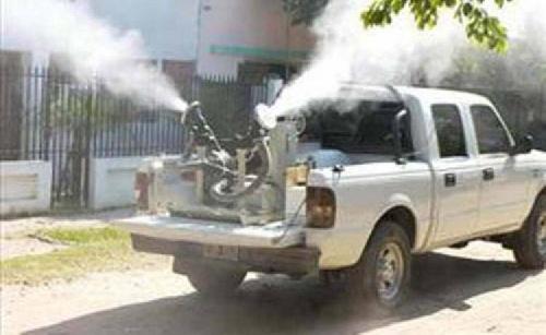 Fumigacion por Dengue