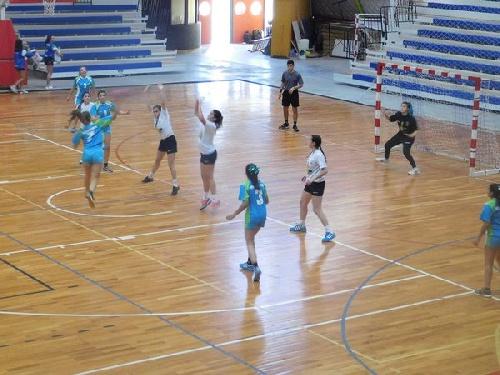 Handball - Actividad del CEF 83 en Salliquelló.