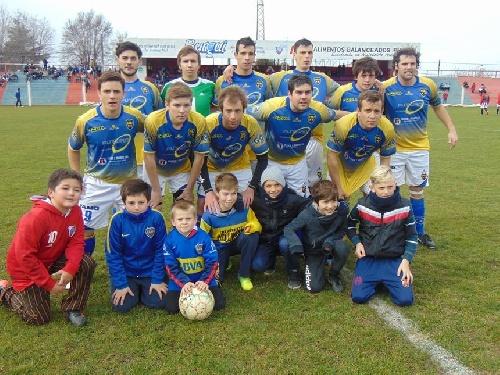 LRF - Reserva - Boca Juniors de Coronel Suárez, goleó y clasificó a semifinales por el Grupo A.