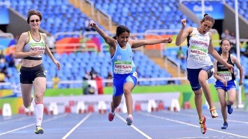 Rio 2016 - Esfuerzo conmovedor: Yanina Martínez es campeona paralímpica de los 100 metros T36
