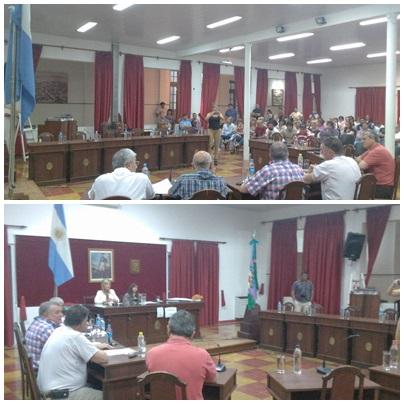 Como lo anticiparon, por falta de garantias de seguridad los concejales de la oposición dejaron sin quorum  la sesión del HCD