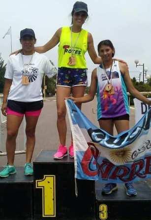 Atletismo - Yani Clair se quedó con el Campeonato 6 ciudades venciendo en Casbas.